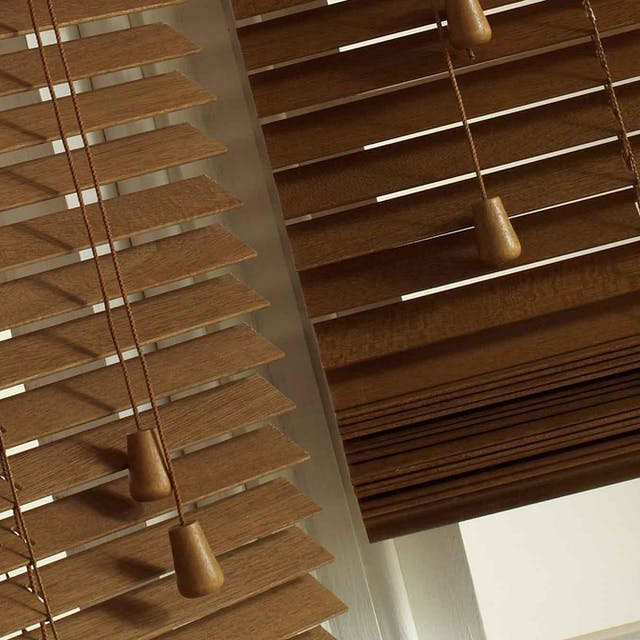 Luxaflex essentials Wooden Blinds 50mm