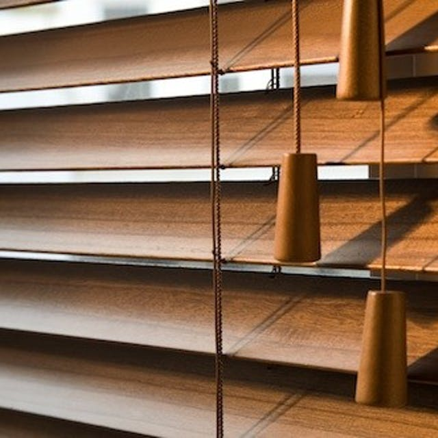 S-Craft Wooden Blinds 64mm