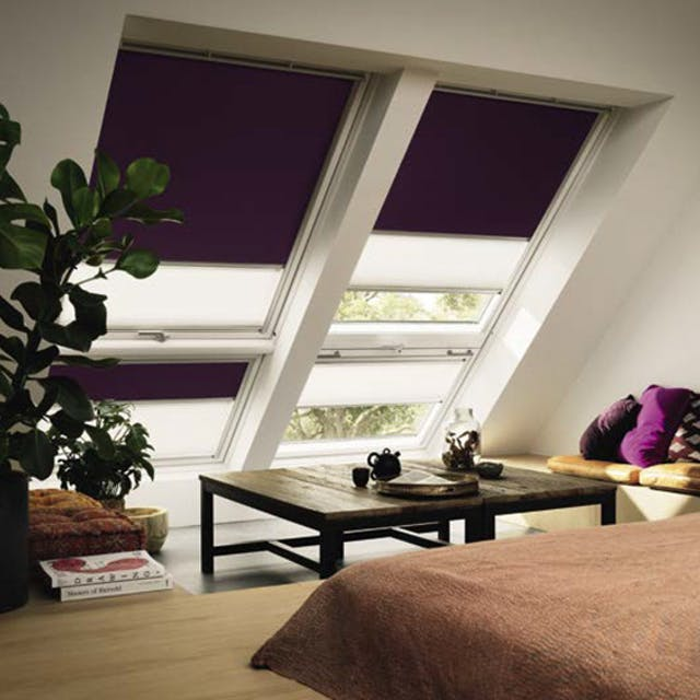 Velux Duo Blackout Skylight Blinds
