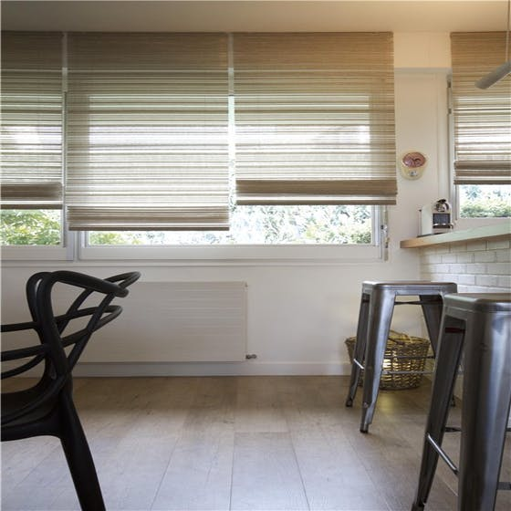 Luxaflex Essentials Woven Wood Roman Blinds Crosby Blinds
